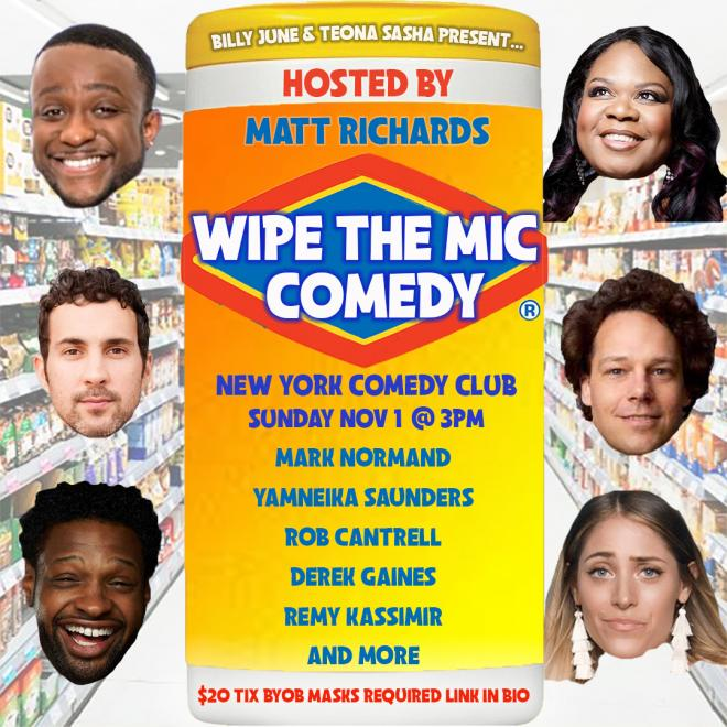 "NYCC at the Hudson Mercantile Rooftop Presents: ""Wipe the Mic"" hosted by Matt Richards"