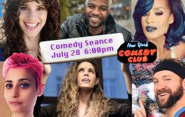Comedy Seance with Kate Wolff, Alyson Charles, and Jess Grippo