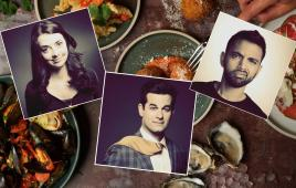 NYCC Dinner & a Laugh at Burger & Lobster ft Michael Kosta & Carmen Lynch