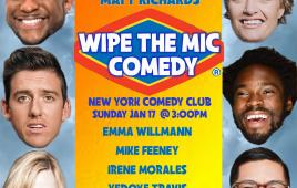 NYCC at the Midtown Penthouse Heated Rooftop Presents Wipe the Mic ft. Matt Richards