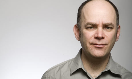 The 54-year old son of father (?) and mother(?), 168 cm tall Todd Barry in 2018 photo