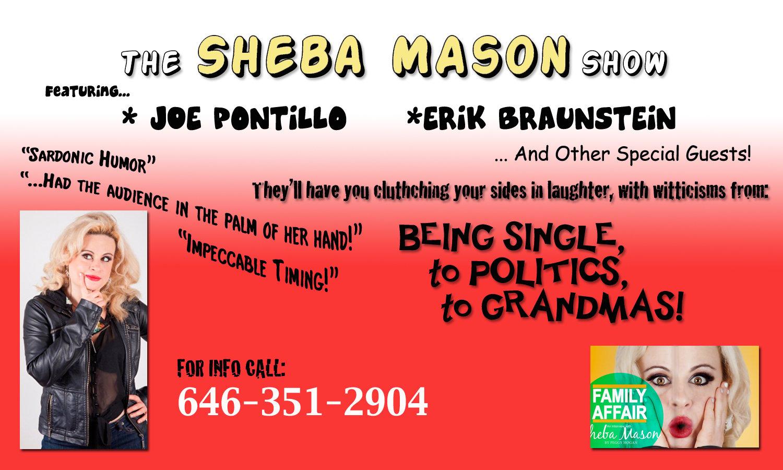Sheba Mason Show!